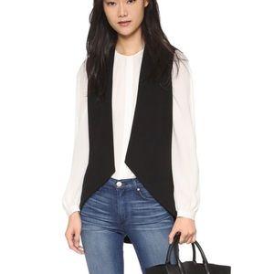 Blaque Label Knit Sculpted Open Front Vest Shopbop